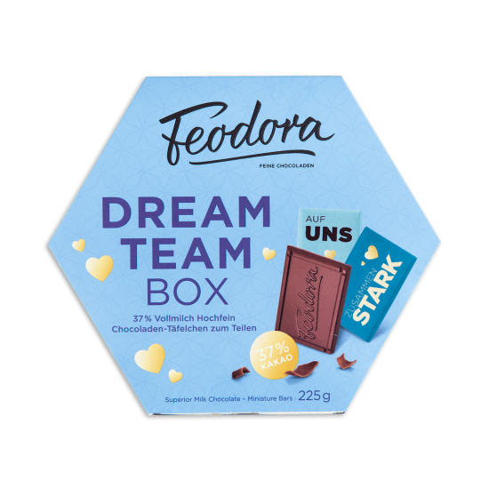 Täfelchen Dream-Team Box